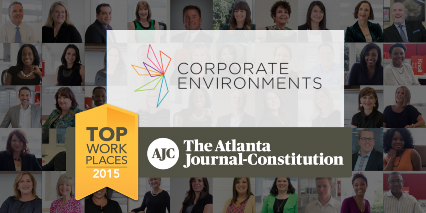 Corporate Environments Honored as Top Workplace